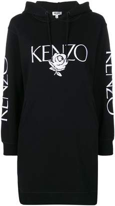 Kenzo embroidered rose dress
