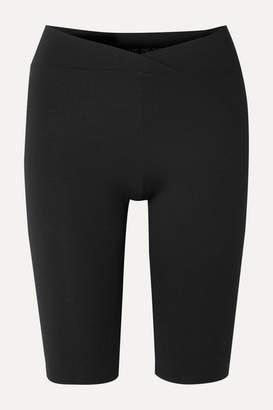 Live The Process V Stretch-supplex Shorts - Black