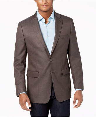 Calvin Klein Men's Slim-Fit Stretch Neat Sport Coat