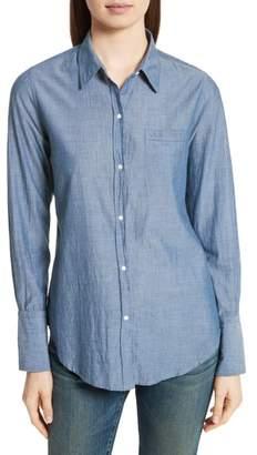 Nili Lotan Chambray Shirt