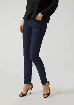 Emporio Armani Super Skinny Denim Jeans