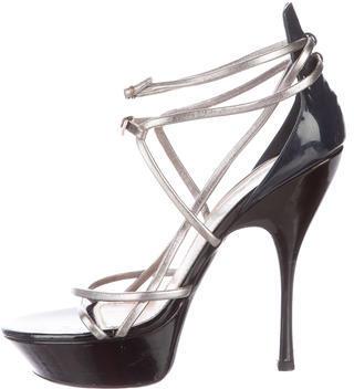 Saint LaurentYves Saint Laurent Lola Platform Sandals