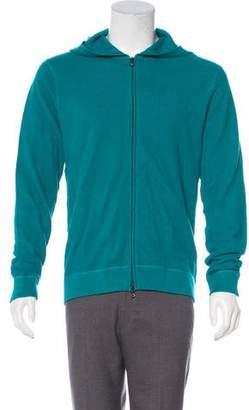 Michael Kors Linen-Blend Hoodie w/ Tags