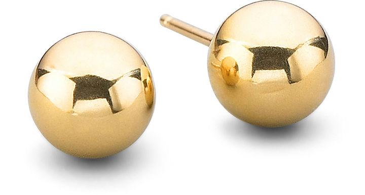 FINE JEWELRY 14K Gold 5mm Ball Earrings