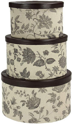 Household Essentials 3-pc. Nesting Hat Box Set
