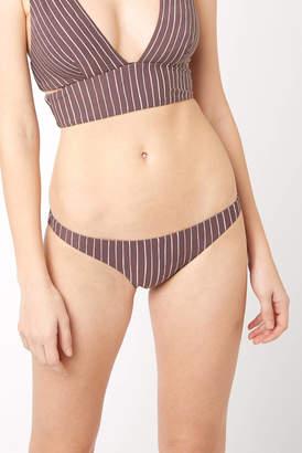 Vitamin A Cigar Stripe Luciana Hipster Bikini Bottom