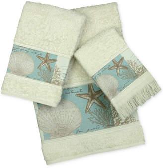 Bacova Coastal Moonlight Cotton Printed Bath Towel Bedding