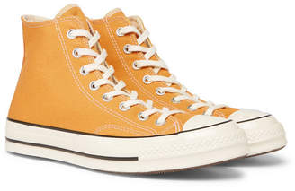 135e37bb951893 Converse 1970s Chuck Taylor All Star Canvas High-Top Sneakers - Men - Yellow