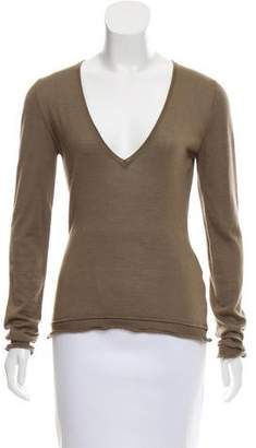 Versace V-Neck Cashmere Sweater