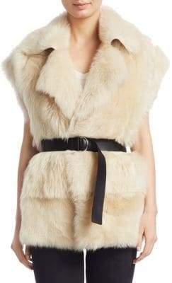 IRO Tozac Reversible Shearling Vest