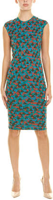 Akris Silk-Blend Sheath Dress