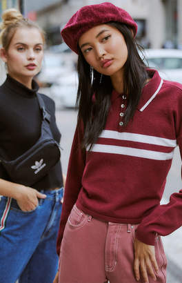 Kendall & Kylie Atlas Polo Sweater