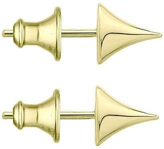 d7f2bda18 Shaun Leane Large Gold Vermeil Rose Thorn Studs