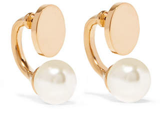 Chloé Darcy Gold-tone Swarovski Pearl Earrings