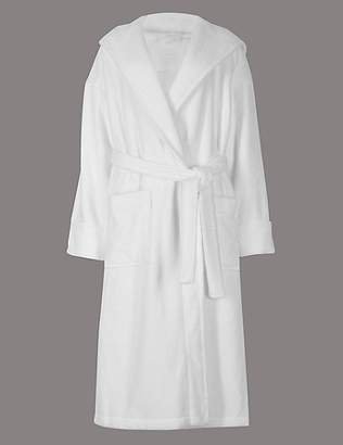 Autograph Pure Cotton Towelling Dressing Gown