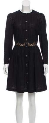 The Kooples Mini Long Sleeve Dress w/ Tags