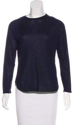 Barneys New York Barney's New York Cashmere & Silk-Blend Knit Sweater