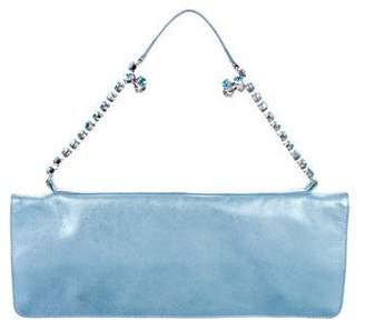 Studio Pollini Metallic Leather Shoulder Bag