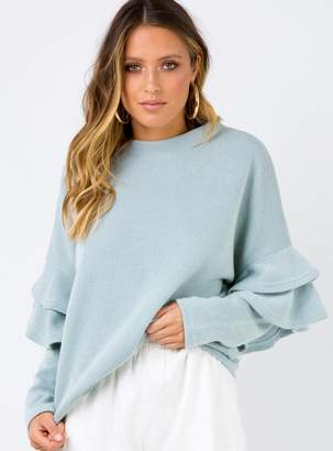 Frill Of Love Knit Jumper