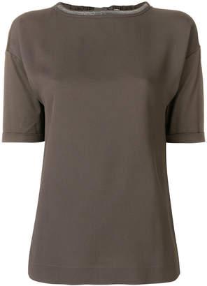 Fabiana Filippi chain trim T-shirt