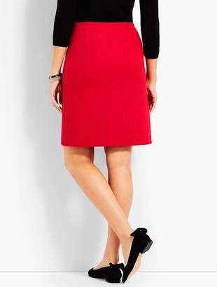 Talbots Wool Twill Wrap Skirt