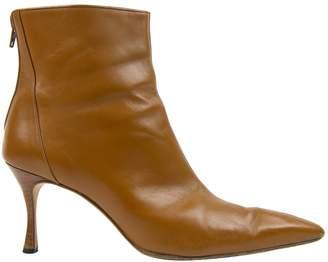 Manolo Blahnik Leather boots