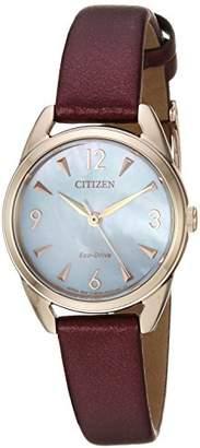 Citizen Women's Eco-Drive' Quartz Stainless Steel Casual Watch