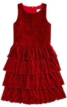 c904e0d3927 BCBGirls Girls  Corded Velvet Dress - Big Kid