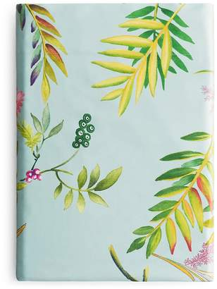 Yves Delorme Bouquets Flat Sheet, Queen