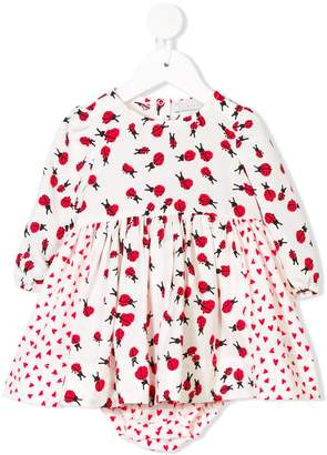 Stella McCartney Fleur lady bug print dress