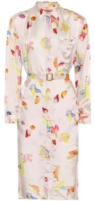 Acne Studios Blå Konst Alloy shirt dress