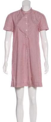 Nili Lotan Mini Short-Sleeve Dress