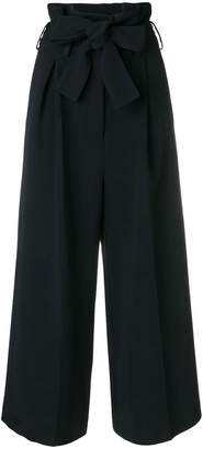 Stella McCartney belted cropped culottes