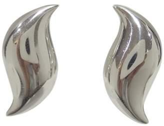 Tiffany & Co. Elsa Peretti 925 Sterling Silver Clip Earrings