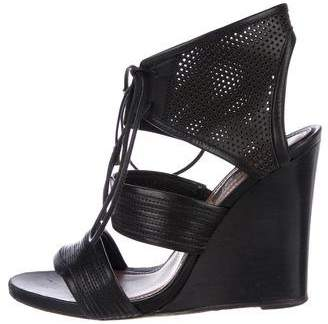 Derek Lam Brooklynn Lace-Up Wedges