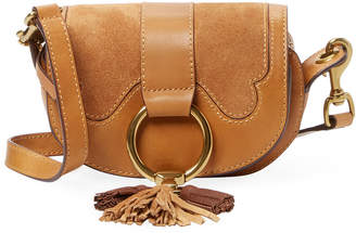 Frye Mini Leather Saddle Bag
