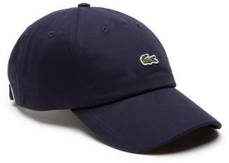 Lacoste Men's Small Croc Gabardine Cap