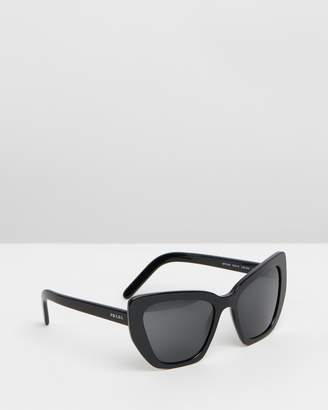 d08f0626b3d Prada Grey Sunglasses For Women - ShopStyle Australia