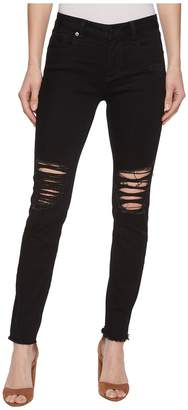 Miss Me Skinny Destructed Jeans in Black Women's Jeans