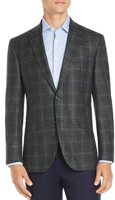 Jack Victor Regular Fit Plaid Wool Sport Coat - 100% Exclusive