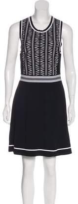 Rag & Bone Patterned A-Line Dress