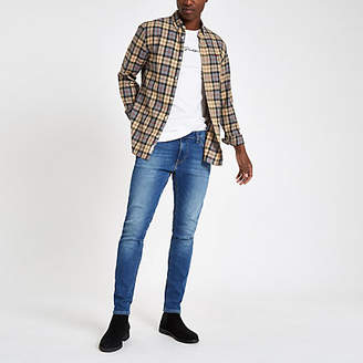 River Island Lee light blue Malone skinny fit denim jeans