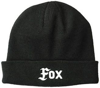 Fox Junior's Flat Track Knit Beanie