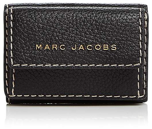 MARC JACOBS Mini Leather Trifold Wallet