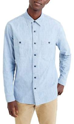 J.Crew J. CREW Wallace & Barnes Chambray Work Shirt