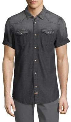 Buffalo David Bitton Sorwood Denim Button-Down Shirt