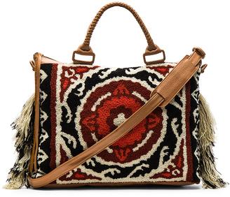 Cleobella Ziggy Weekender Bag $422 thestylecure.com