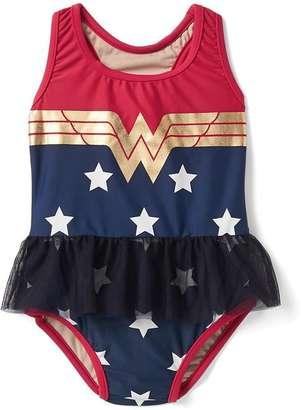 babyGap | Wonder Woman tulle swim one-piece $34.95 thestylecure.com