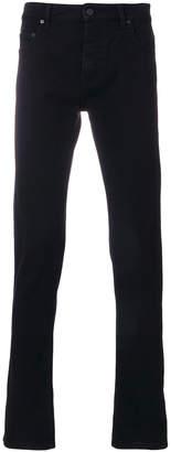Kenzo branded cuff straight leg jeans