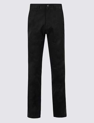Marks and Spencer Regular Fit Pure Cotton Chinos
